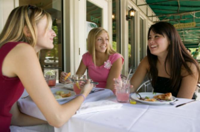 How much do you spend a week on dining out or take home?